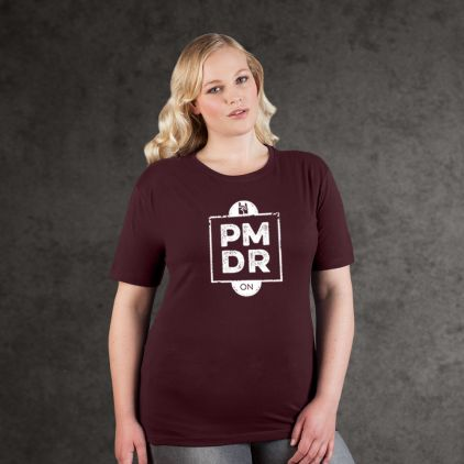 "Print ""promodoro rock on"" Premium T-Shirt Plus Size Damen"