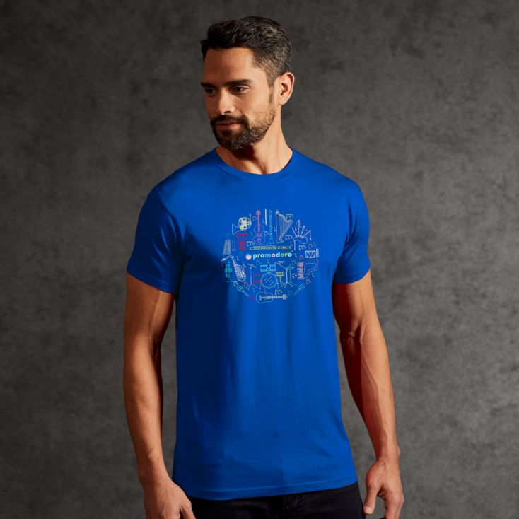 """Print """"promodoro orchestra"""" T-shirt premium Hommes"""