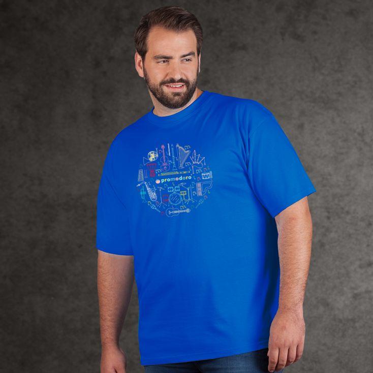 "Print ""promodoro orchestra"" T-shirt premium grandes tailles Hommes"