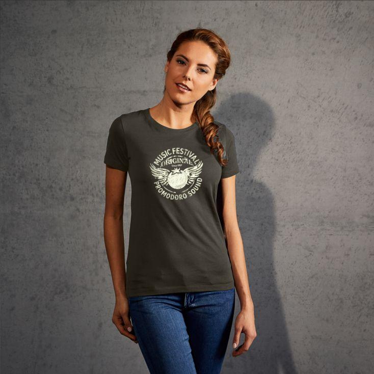 "Print ""promodoro sound"" Premium T-shirt Women"