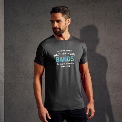 "Print ""promodoro made for music bands"" premium t-shirt Men"