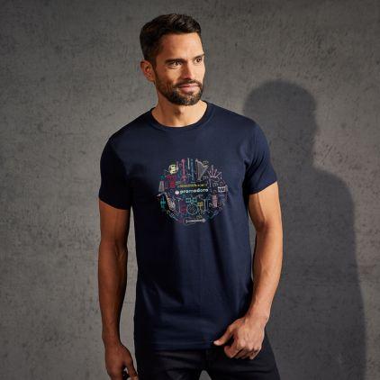 "Print ""promodoro orchesta"" premium t-shirt Men"