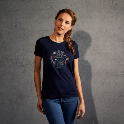 "Print ""promodoro orchestra"" premium t-shirt Women"