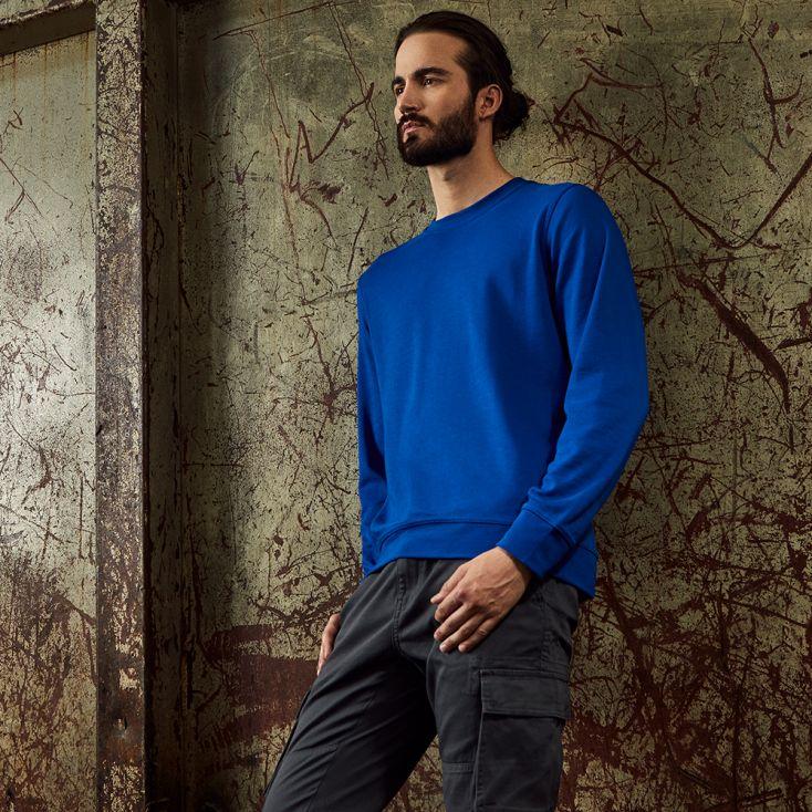 Unisex Interlock Sweatshirt Workwear Damen und Herren