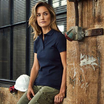 Jersey Polo shirt Workwear Women