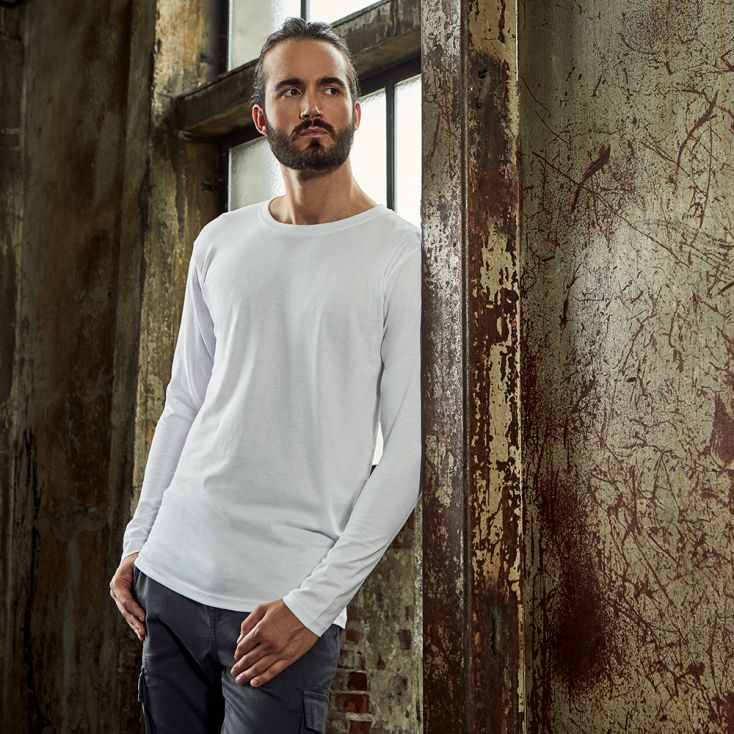 Premium Langarmshirt Workwear Herren