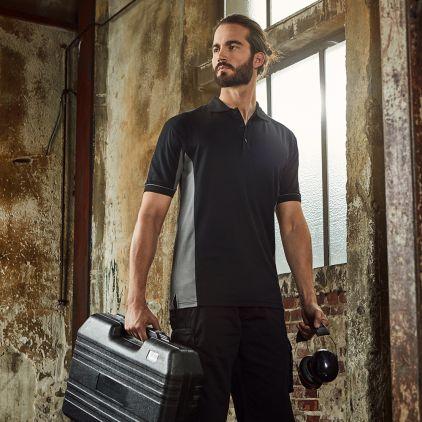 Function Polo shirt Workwear Men