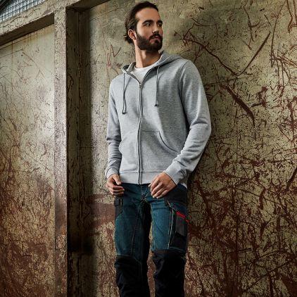 Veste sweat capuche zippée 80-20 workwear Hommes
