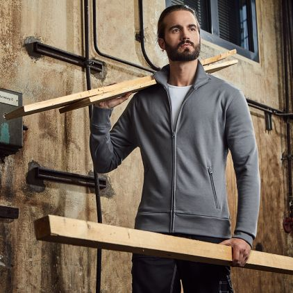 Veste col montant workwear Hommes