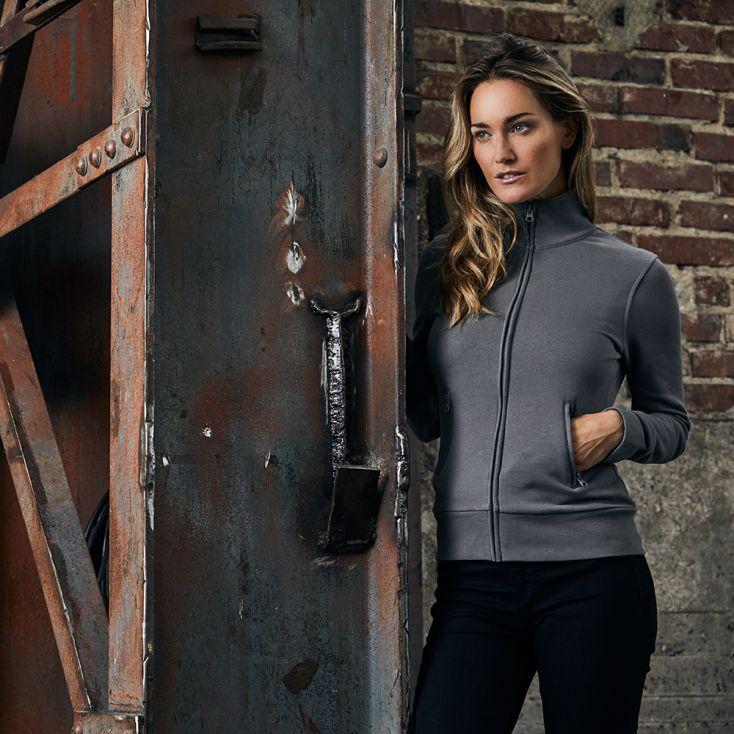 Stand-Up Collar Jacket Workwear Women