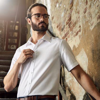 Business Shortsleeve shirt Workwear Men