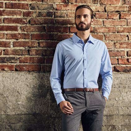 Business Longsleeve shirt Workwear Men