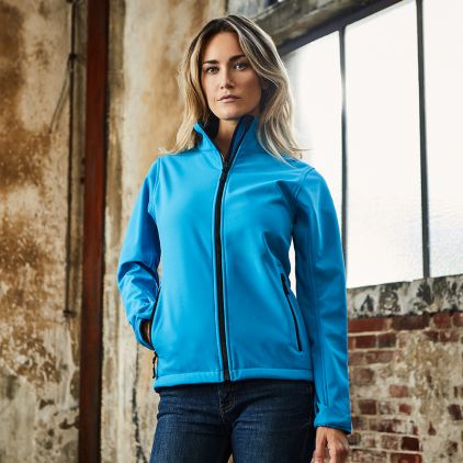 Softshell Jacket C+ Workwear Women