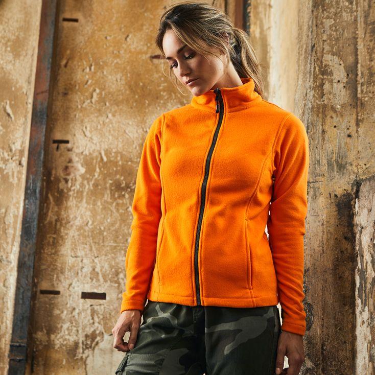 Leichte Fleece Jacke C+ Workwear Damen