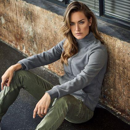 Double Fleece Jacket Workwear Women