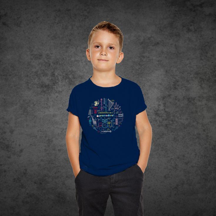"Print ""promodoro orchestra"" T-shirt Premium Enfants"
