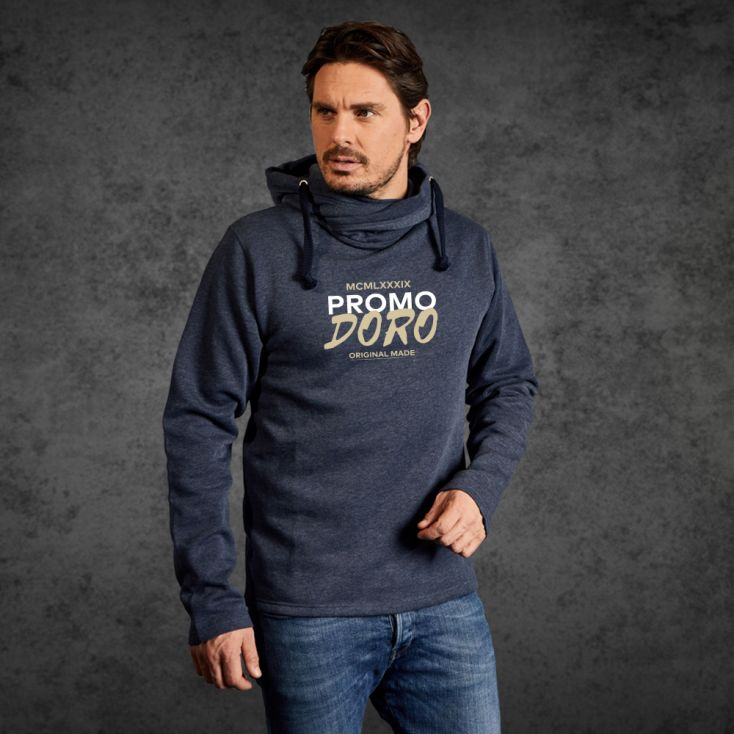 "Print ""promodoro original made"" Sweat à Capuche Chiné Hommes"