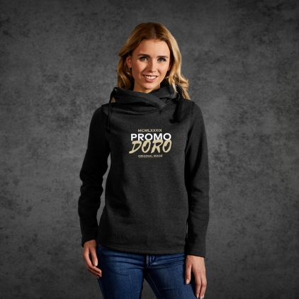 "Print ""promodoro original made"" Heather Hoodie Women"