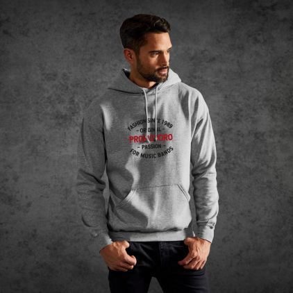 "Print ""promodoro passion"" Sweat à Capuche Basic Hommes"