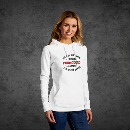 "print ""promodoro passion"" Sweat à Capuche Basic Femmes"