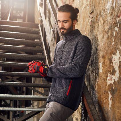 Knit Jacket Workwear Men