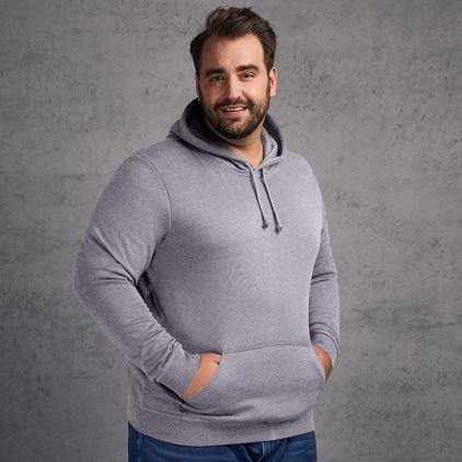 Sweat capuche basic 80-20 grandes tailles Hommes