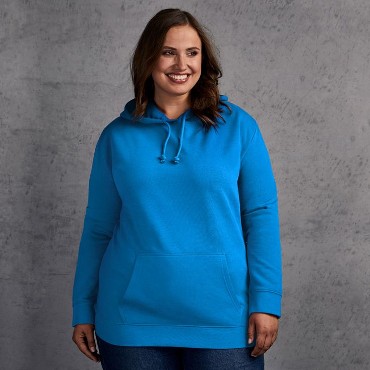 Sweat capuche basic 80-20 grande taille Femmes