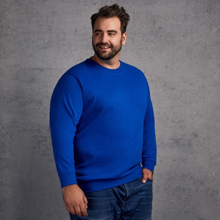 Unisex Interlock Sweatshirt Plus Size Damen und Herren