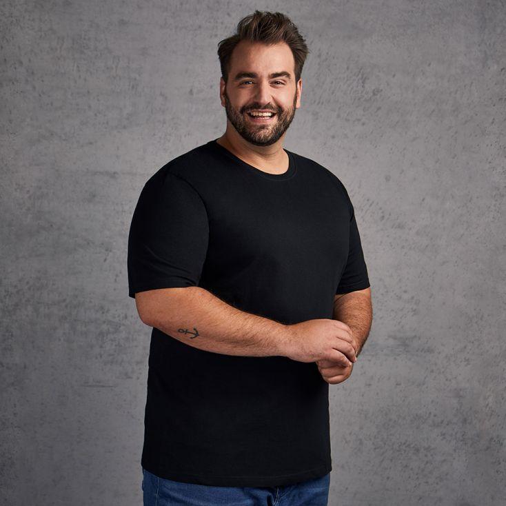 Organic T-shirt Plus Size Men
