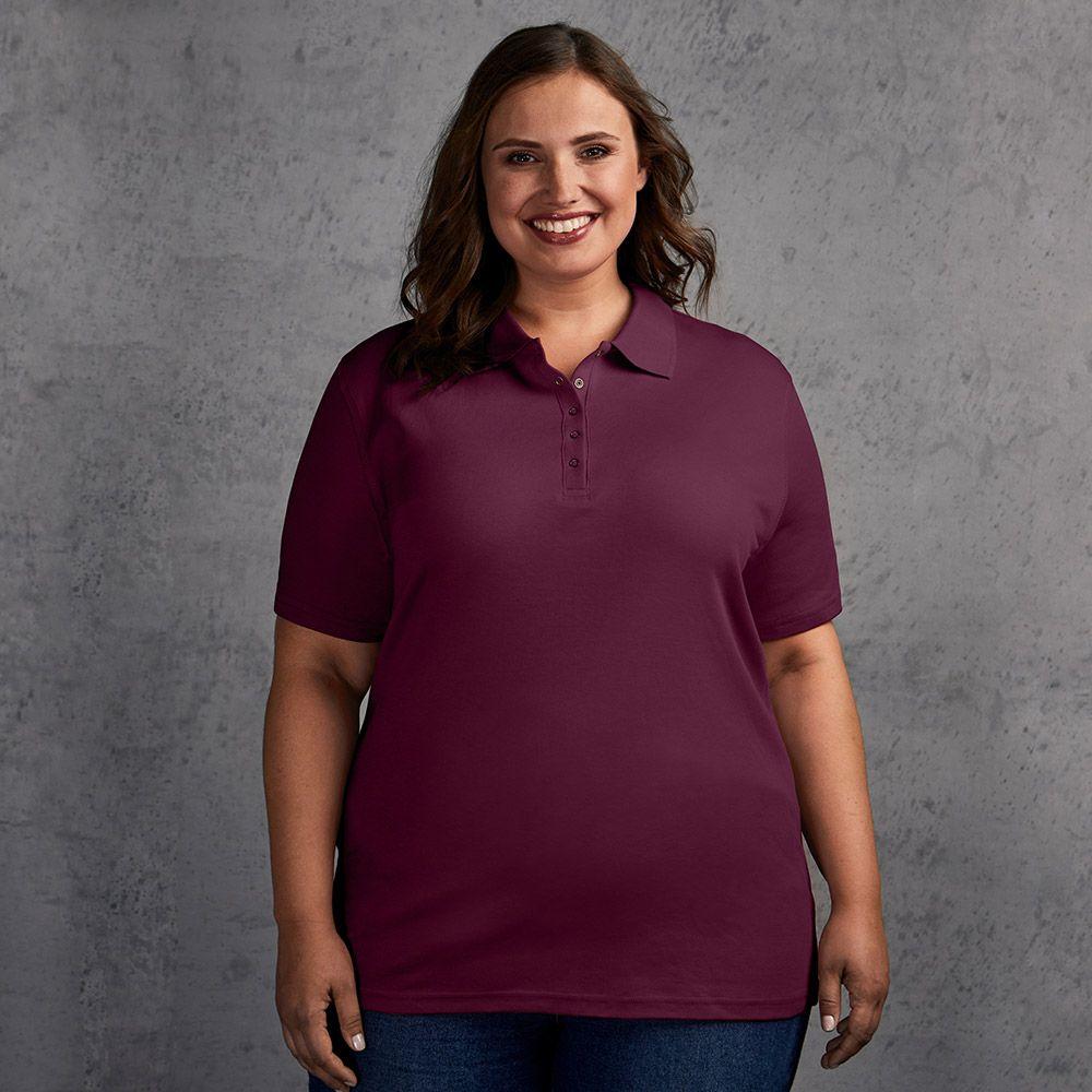 Interlock Polo shirt Plus Size Women