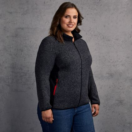Strick Jacke Plus Size Workwear Damen