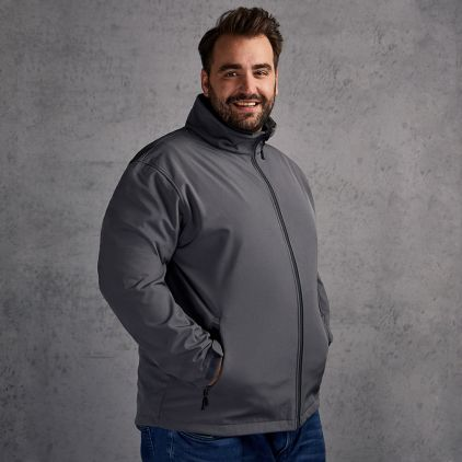 Softshell Jacket C+ Plus Size Men