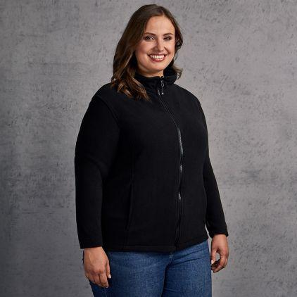 Leichte Fleece Jacke C+ Plus Size Damen