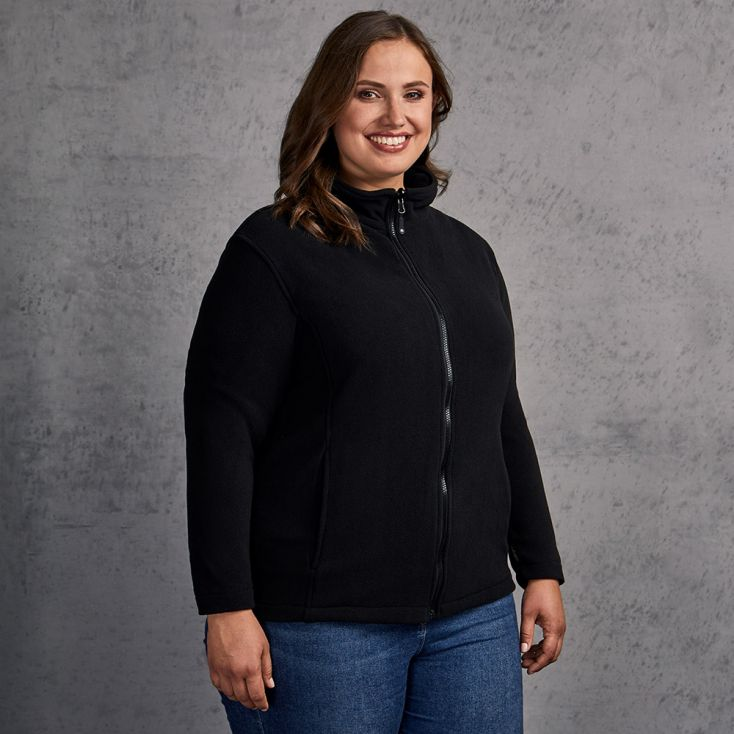 Fleece Jacket C+ Plus Size Women
