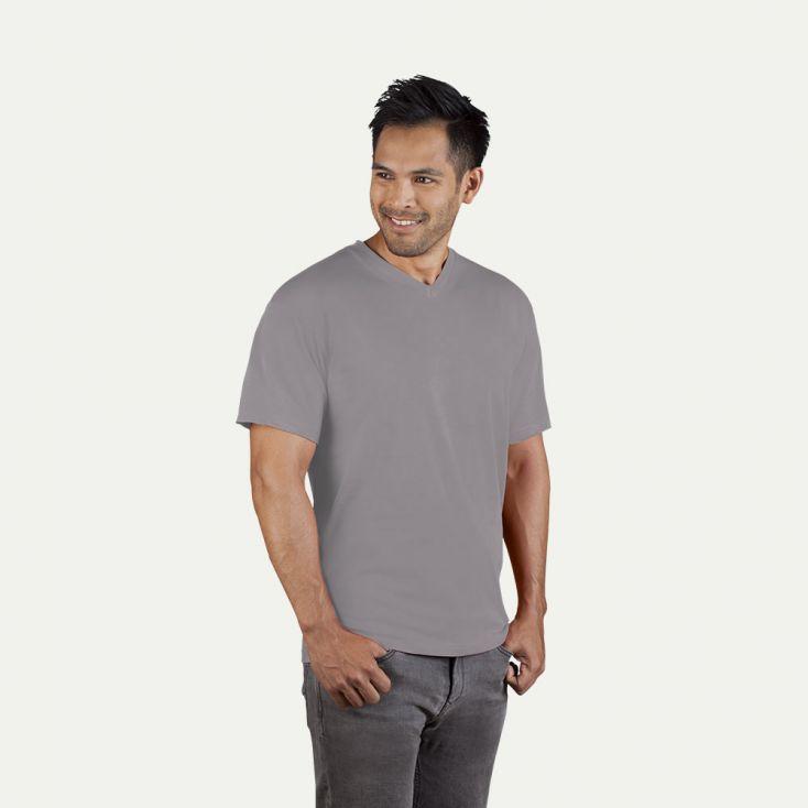 T-shirt Premium col V Hommes Promotion