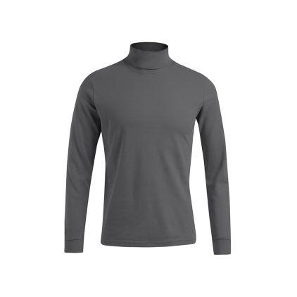 Rollkragen Langarmshirt Plus Size Herren Sale