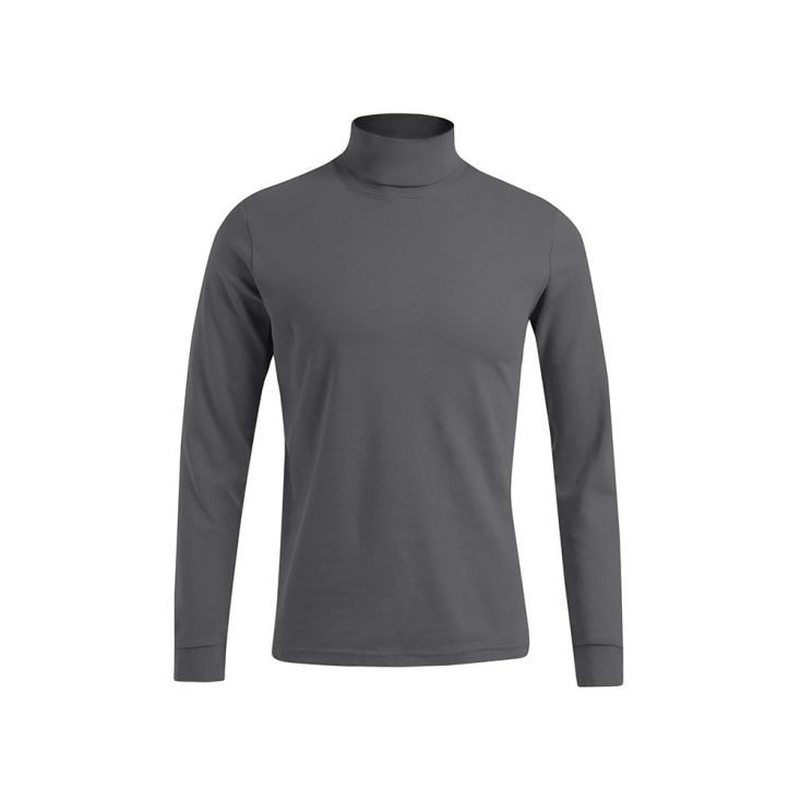 Turtleneck Longsleeve Plus Size Men Sale