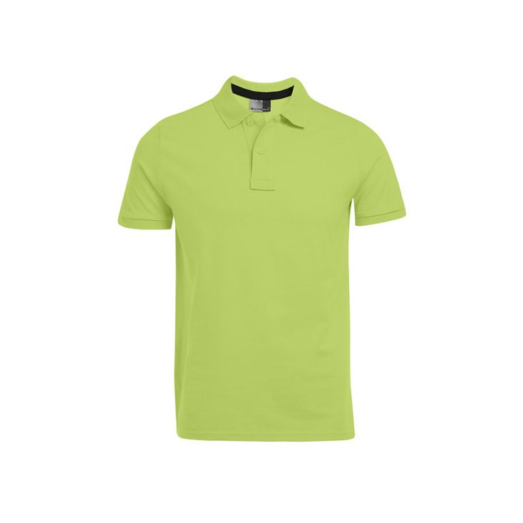 Polo Jersey simple grande taille Hommes promotion