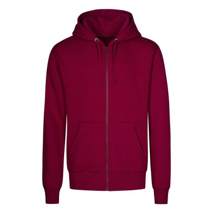 Zip Hoodie Jacket Plus Size Men