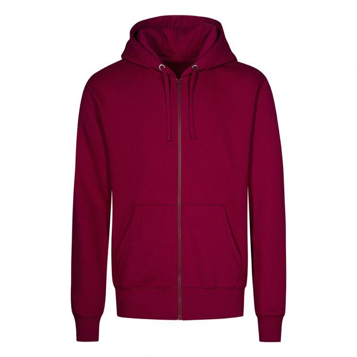 Zip Hoodie Jacket Plus Size Men
