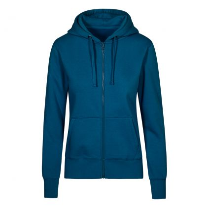 X.O Zip Hoodie Jacke Plus Size Damen