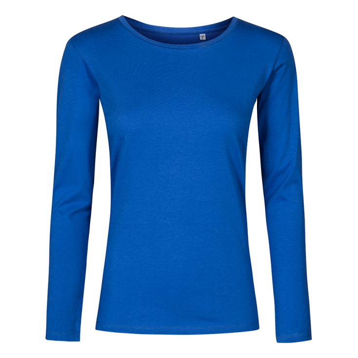 T-shirt manches longues col rond grande taille Femmes
