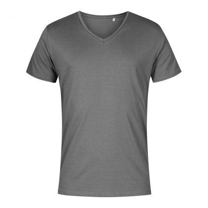 V-neck T-shirt Plus Size Men