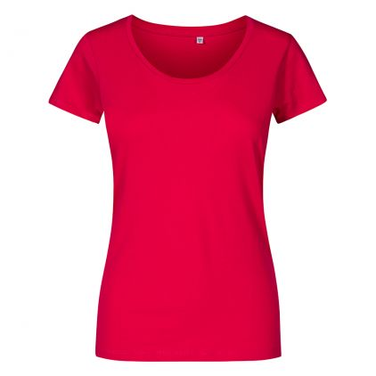Deep Scoop T-Shirt Plus Size Damen