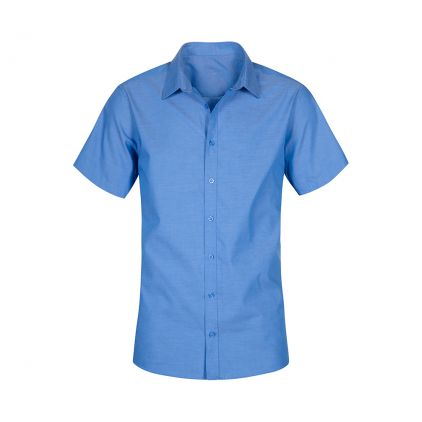 Oxford Shortsleeve Shirt Plus Size Workwear Men