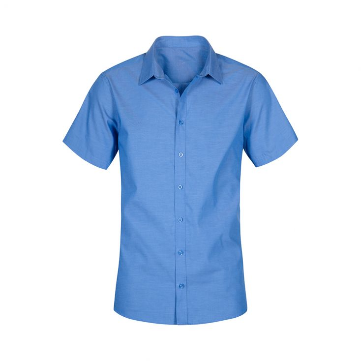 Chemise Oxford Manches Courtes grandes tailles Workwear Hommes