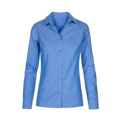Oxford Longsleeve Blouse Plus Size Women