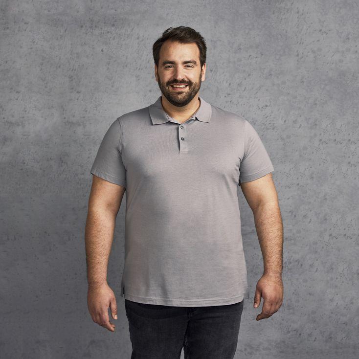 Jersey Polo shirt Plus Size Men