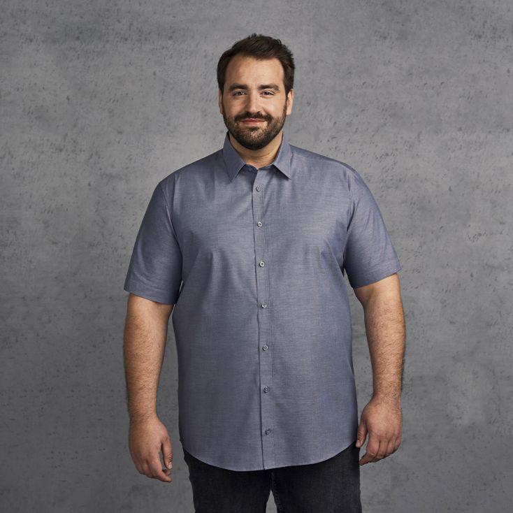 Oxford Shortsleeve Shirt Plus Size Men