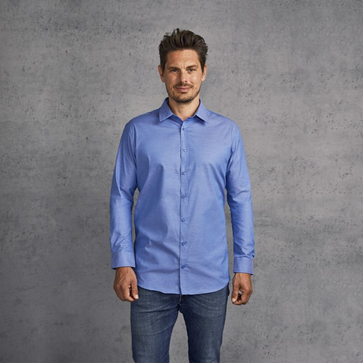 Chemise Oxford Manches Longues Hommes